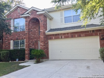 Helotes Single Family Home Price Change: 8811 Firebaugh Dr