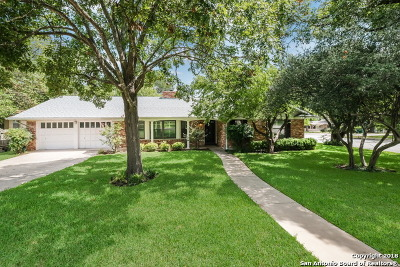 San Antonio TX Single Family Home Price Change: $369,900