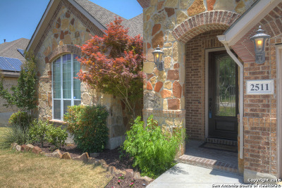 San Antonio Single Family Home Back on Market: 2511 Portola View