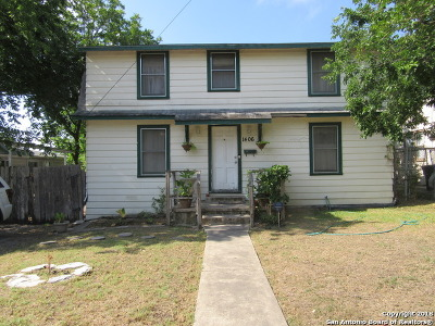 San Antonio Single Family Home Price Change: 1406 W Kings Hwy