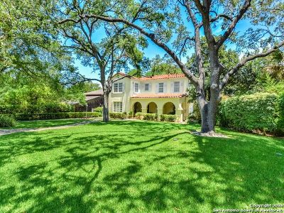 Olmos Park Single Family Home New: 205 Thelma Dr