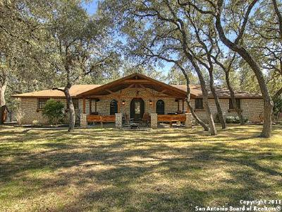 Helotes Single Family Home For Sale: 12750 Stagecoach Ln