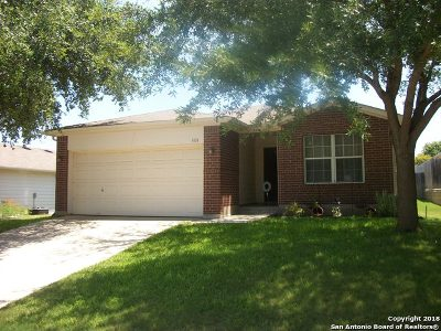 Schertz Single Family Home For Sale: 5133 Knollwood