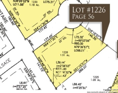 New Braunfels Residential Lots & Land For Sale: Alsace