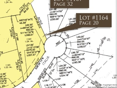 New Braunfels Residential Lots & Land For Sale: 2059 Italia