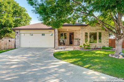 Schertz Single Family Home New: 3532 Hamilton Pl