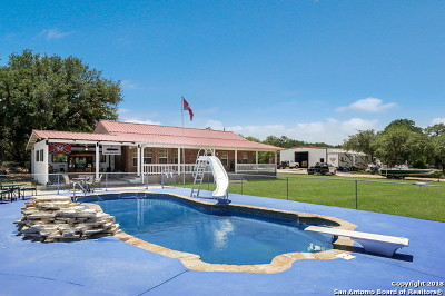 Comal County Single Family Home For Sale: 4335 Mail Route Rd