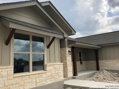 Canyon Lake Single Family Home New: 1051 Cash Ln
