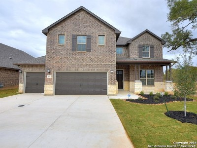 Boerne Single Family Home New: 120 Heathcot