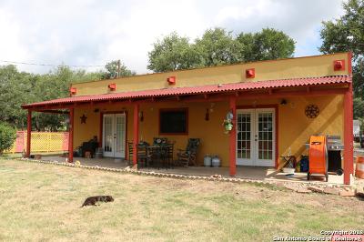 Hondo Single Family Home Price Change: 268 County Road 2471