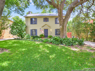 San Antonio Single Family Home New: 106 Stanford Dr