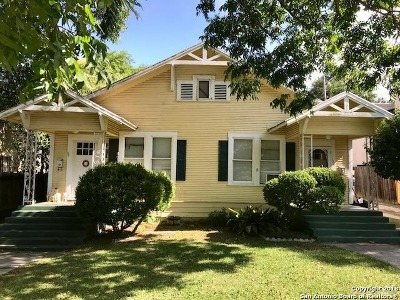 Alamo Heights Multi Family Home New: 134 Montclair St