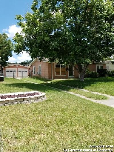 San Antonio Single Family Home New: 155 Killarney Dr