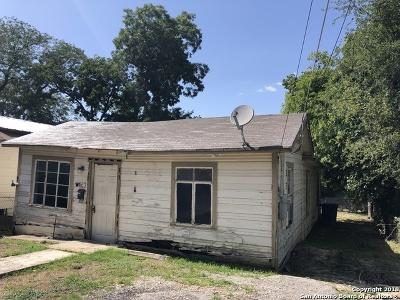 San Antonio Single Family Home Price Change: 127 Teresa