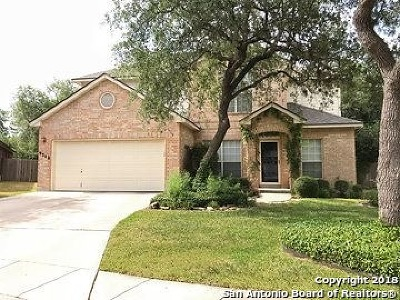 Helotes Single Family Home Price Change: 9308 Scotty Oaks