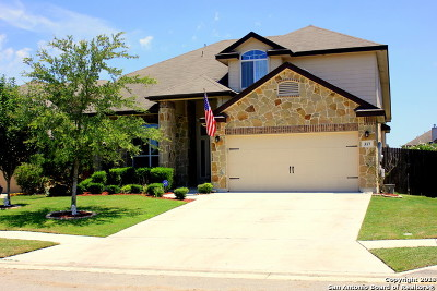 Cibolo Single Family Home New: 317 Hazeltine Way