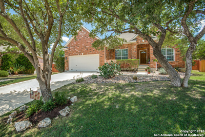 Cibolo Canyons Single Family Home New: 23438 Treemont Park