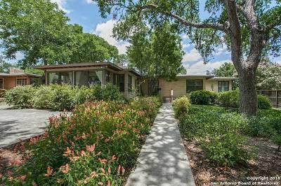 San Antonio Single Family Home New: 127 Oakleaf Dr