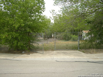 San Antonio Residential Lots & Land New: 2706 Crater St