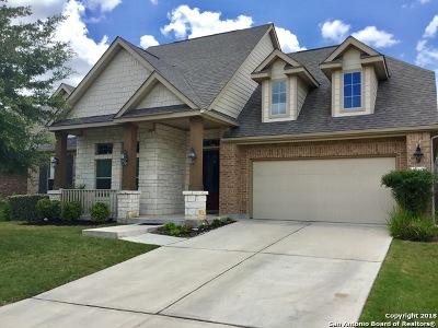 Bexar County Single Family Home New: 12434 Alstroemeria