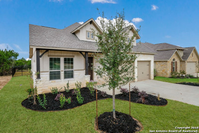 Boerne Single Family Home New: 124 Escondido