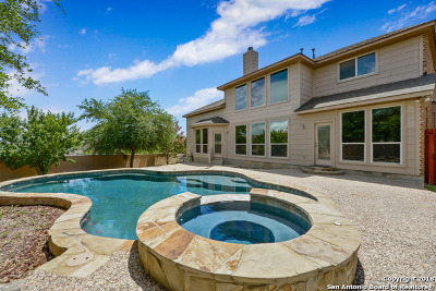 Helotes Single Family Home New: 8606 El Pueblo Peak