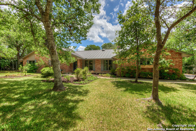 Helotes Single Family Home New: 10543 Rocking M Trail