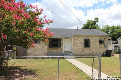 San Antonio Single Family Home For Sale: 622 Royston Ave