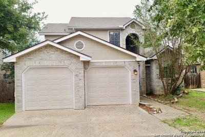 San Antonio Single Family Home Price Change: 1107 Summit Crest