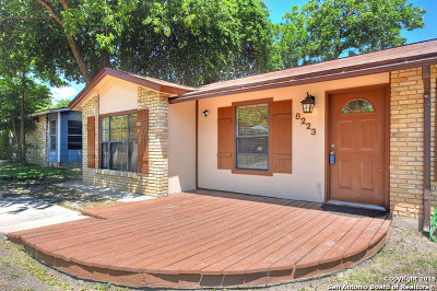 San Antonio Single Family Home New: 8223 Bentwood Dr
