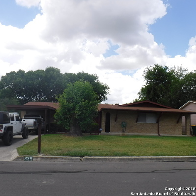 Converse Single Family Home New: 339 Deborah Dr