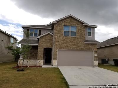 San Antonio Single Family Home Price Change: 1902 Marbach Woods