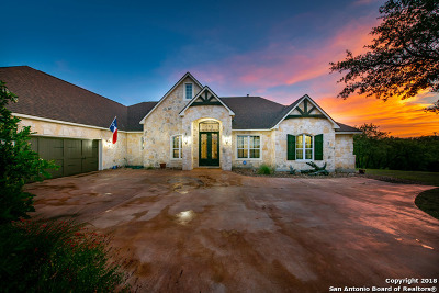 Spring Branch Single Family Home For Sale: 314 Bosque Ridge