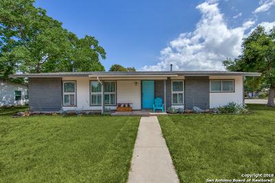 San Antonio Single Family Home Back on Market: 3719 Van Dyke Dr