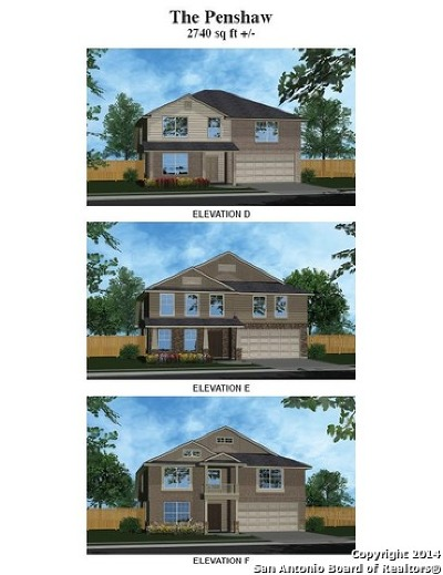 Schertz Single Family Home New: 4595 Scots Elm