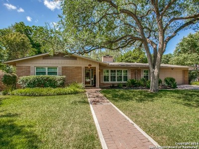 San Antonio Single Family Home New: 122 Laramie Dr