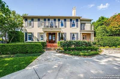 Alamo Heights Single Family Home For Sale: 210 Joliet Ave