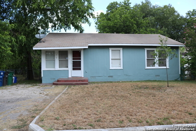 San Antonio Single Family Home Back on Market: 415 McLaughlin Ave