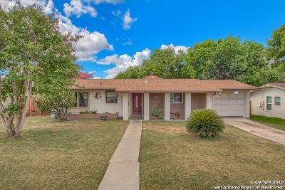 San Antonio TX Single Family Home New: $183,000