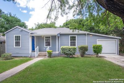 San Antonio Single Family Home New: 566 W Wildwood
