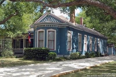 Seguin Single Family Home For Sale: 627 Johnson Ave