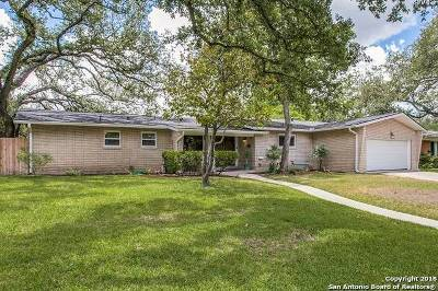 San Antonio Single Family Home New: 434 Rockhill Dr
