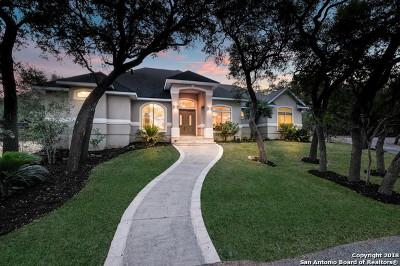 San Antonio Single Family Home New: 9035 Cross Mountain Trail