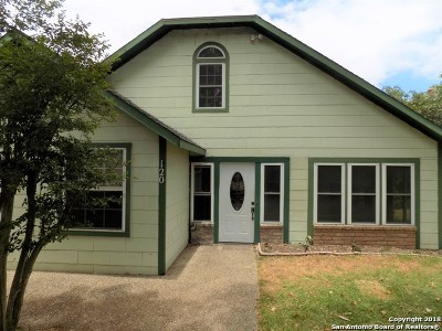 Boerne Single Family Home New: 120 W Hosack St