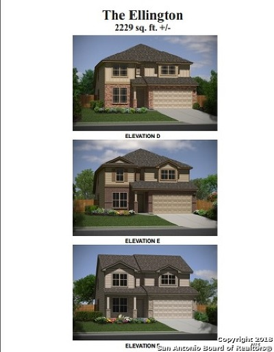 San Antonio Single Family Home Price Change: 11342 Charismatic
