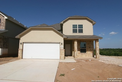 San Antonio Single Family Home Price Change: 3502 Battlecry