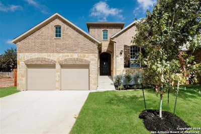 Boerne Single Family Home New: 9823 Monken