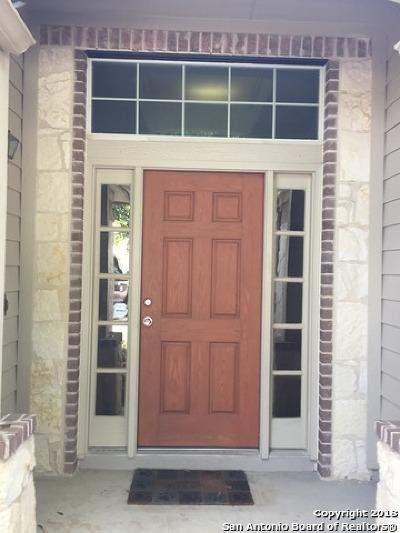 Bexar County Rental New: 22103 Ruby Run