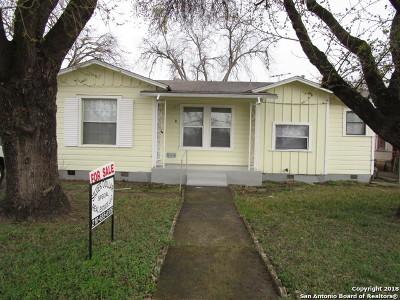 San Antonio TX Single Family Home New: $79,000