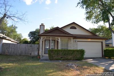 San Antonio Single Family Home New: 7405 Barnsley